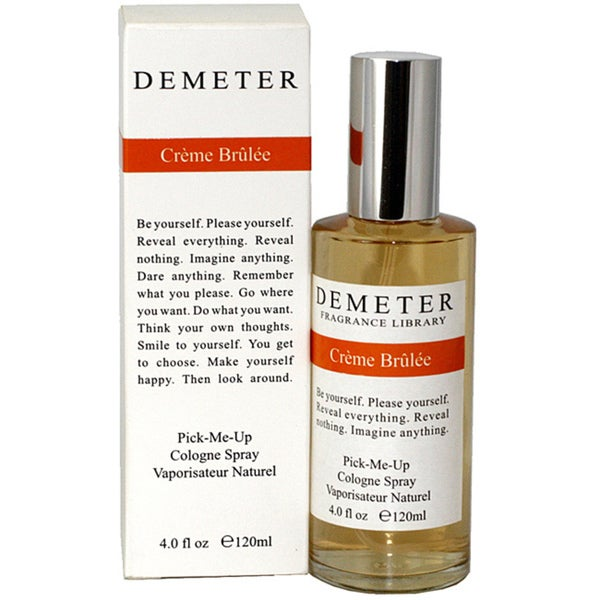 Demeter Creme Brulee Women's 4-ounce Cologne Spray