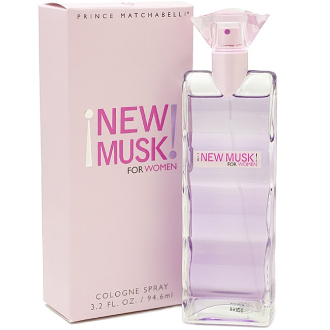 Prince Matchabelli New Musk Women's 3.2-ounce Cologne Spr...