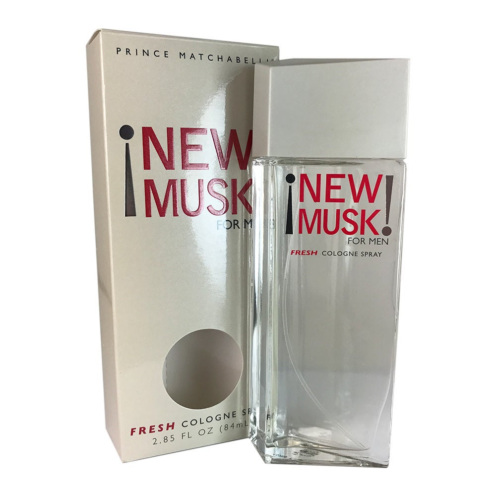 Prince Matchabelli New Musk Men's 2.85-ounce Cologne Spra...
