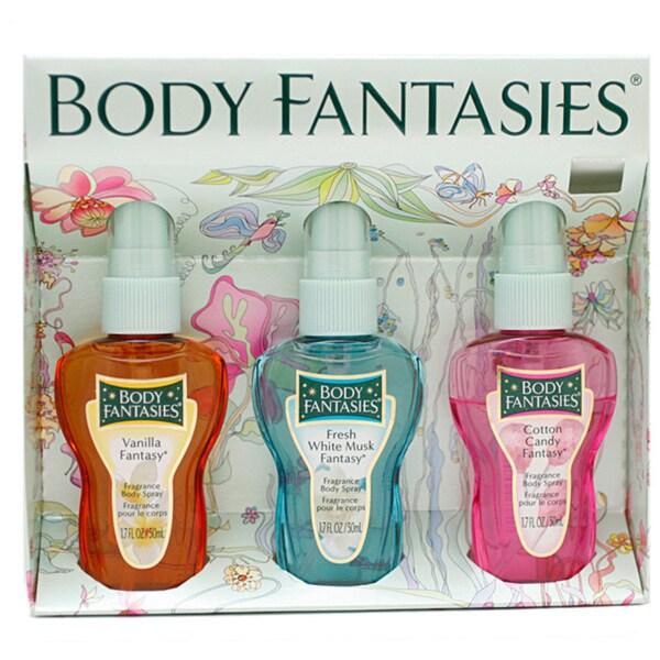 Parfums de Coeur Body Fantasies Women's 3-piece Gift Set