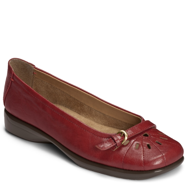 A2 by Aerosoles 'Ricotta' Red Slip On