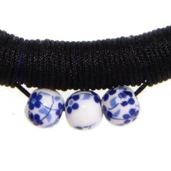 Handmade Blue and White Porcelain Bracelet (China) - Thumbnail 2
