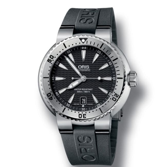 Oris Men's Stainless Steel Divers Watch - Thumbnail 0
