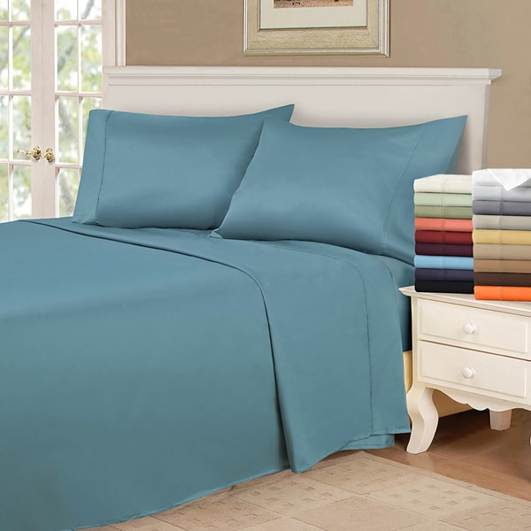 Superior Vibrant Wrinkle Resistant Microfiber Pillowcases (Set of 2)