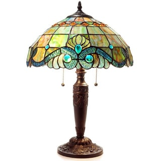Tiffany Style Pearl Vintage Table L&  sc 1 st  Overstock.com & Tiffany Style Lighting For Less | Overstock.com azcodes.com