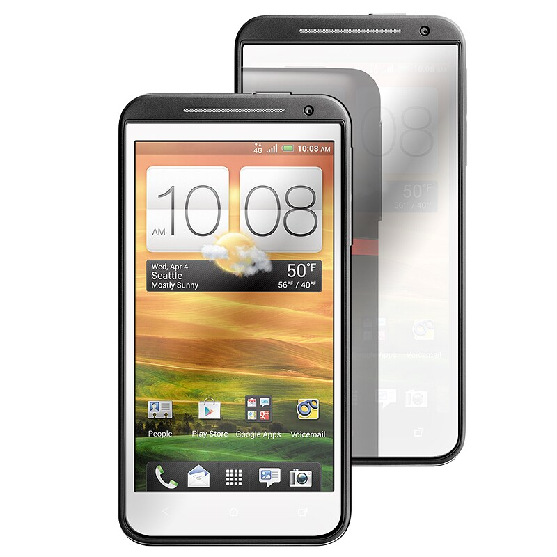 INSTEN Anti-scratch Mirror Screen Protector for HTC EVO 4G LTE