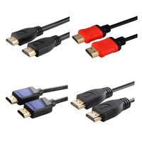 INSTEN Black Male to Male High-speed HDMI Cable with Ethernet