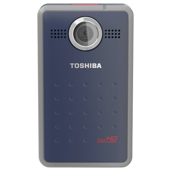"Toshiba Camileo Clip Digital Camcorder - 1.5"" LCD - BSI CMOS - Full H"