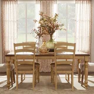 TRIBECCA HOME Carlingford Buttermilk 7-piece Country Dining Set