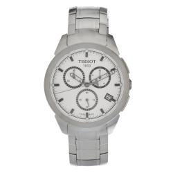 Tissot Men's T0694174403100 Titanium White Dial Watch