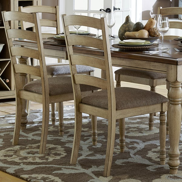 TRIBECCA HOME Carlingford Buttermilk Country Dining Chair (Set of 2). Opens flyout.