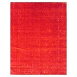Herat Oriental Indo Hand-loomed Gabbeh Wool Rug (8' x 10')