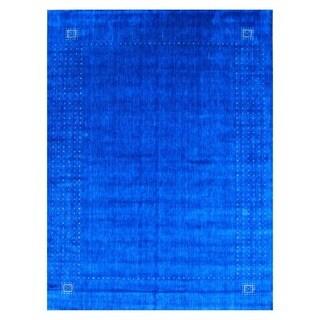 Herat Oriental Indo Hand-loomed Gabbeh Wool Rug (9' x 12')