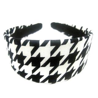 Crawford Corner Shop Black White Houndstooth Headband