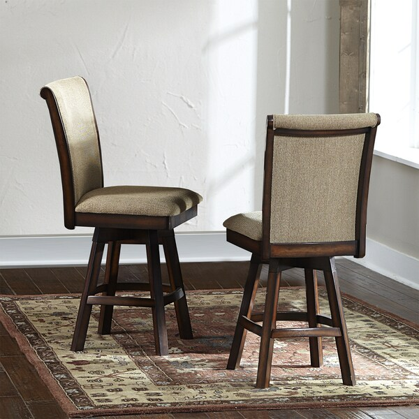 Glenbrook 24-inch Swivel Chairs (Set of 2)