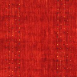 Indo Hand-loomed Red/ Blue Gabbeh Wool Rug (3' x 5') - Thumbnail 1