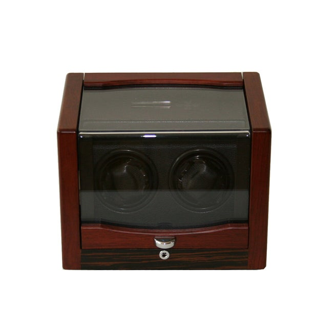 Rocket Matte Wood Double Watch Winder - Thumbnail 0