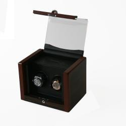 Rocket Matte Wood Double Watch Winder - Thumbnail 2