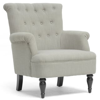 Crenshaw Light Grey Modern Club Chair
