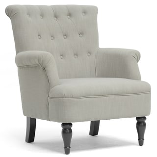 Crenshaw Light Grey Modern Club Chair