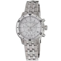 Tissot Men's T0674171103100 PRS-200 Silver Chronograph Watch