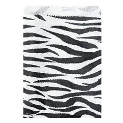 Caddy Bay Collection 200-piece Zebra Paper Gift Bags