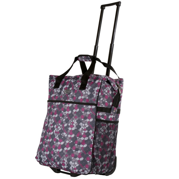 Calpak 'Big Eazy' 20-Inch Pull-Handle Washable Rolling Shopping Tote Bag
