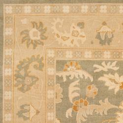Hand-knotted Corte Multicolored New Zealand Wool Rug (9' x 13') - Thumbnail 2