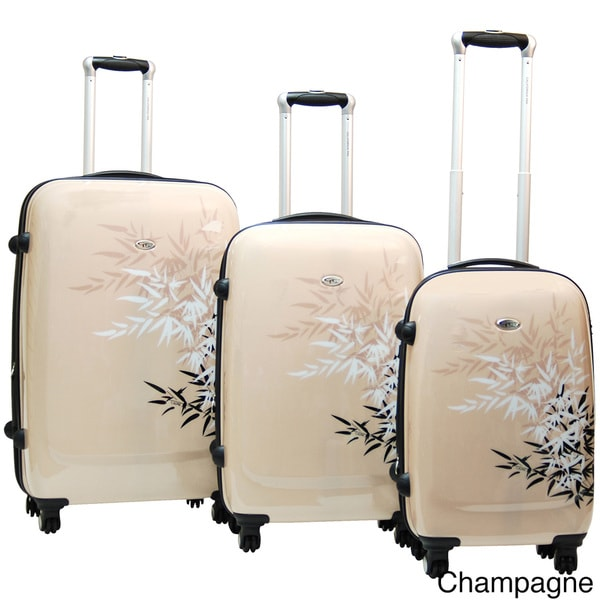 Calpak Bangkok 3-piece Expandable Hardside Spinner Luggage Set