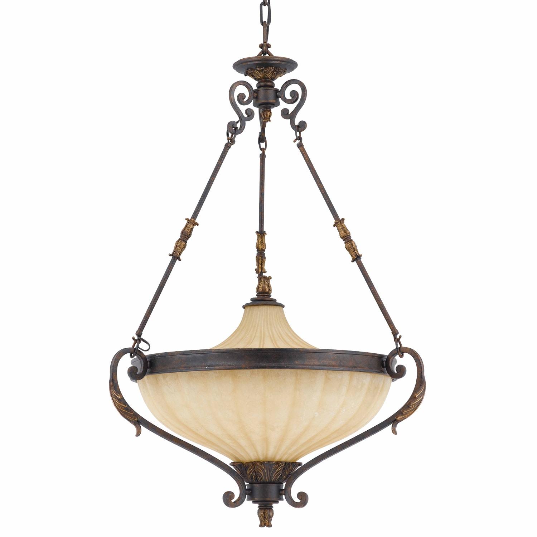 Venus 6-light English Bronze Pendant