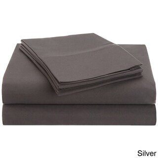 Superior Vibrant Wrinkle-Resistant Microfiber Deep Pocket Sheet Set (More options available)