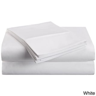 Superior Microfiber Vibrant Solid Wrinkle-resistant Sheet Set