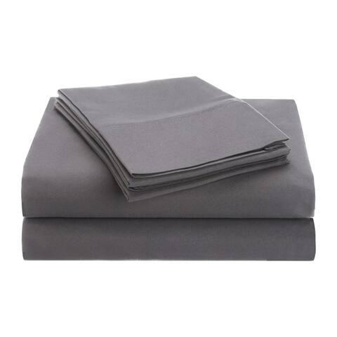 Superior Vibrant Wrinkle-Resistant Microfiber Deep Pocket Sheet Set