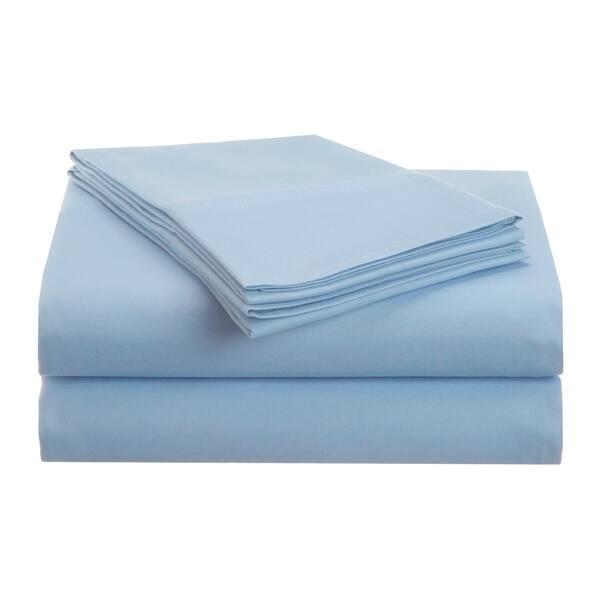 Sheet Set Microfiber Navy Pinstripe Soft Warm Cozy Wrinkle Resistant Lightweight