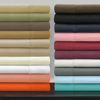 Superior Vibrant Wrinkle-Resistant Microfiber Deep Pocket Sheet Set