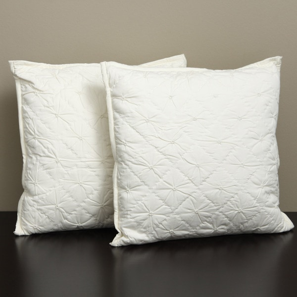 Heirloom Ivory Decorative Pillows (Set of 2)