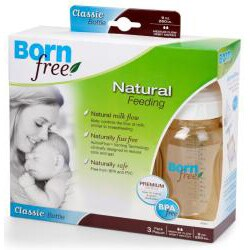 Born Free 9-ounce Classic Bottle (Pack of 3)