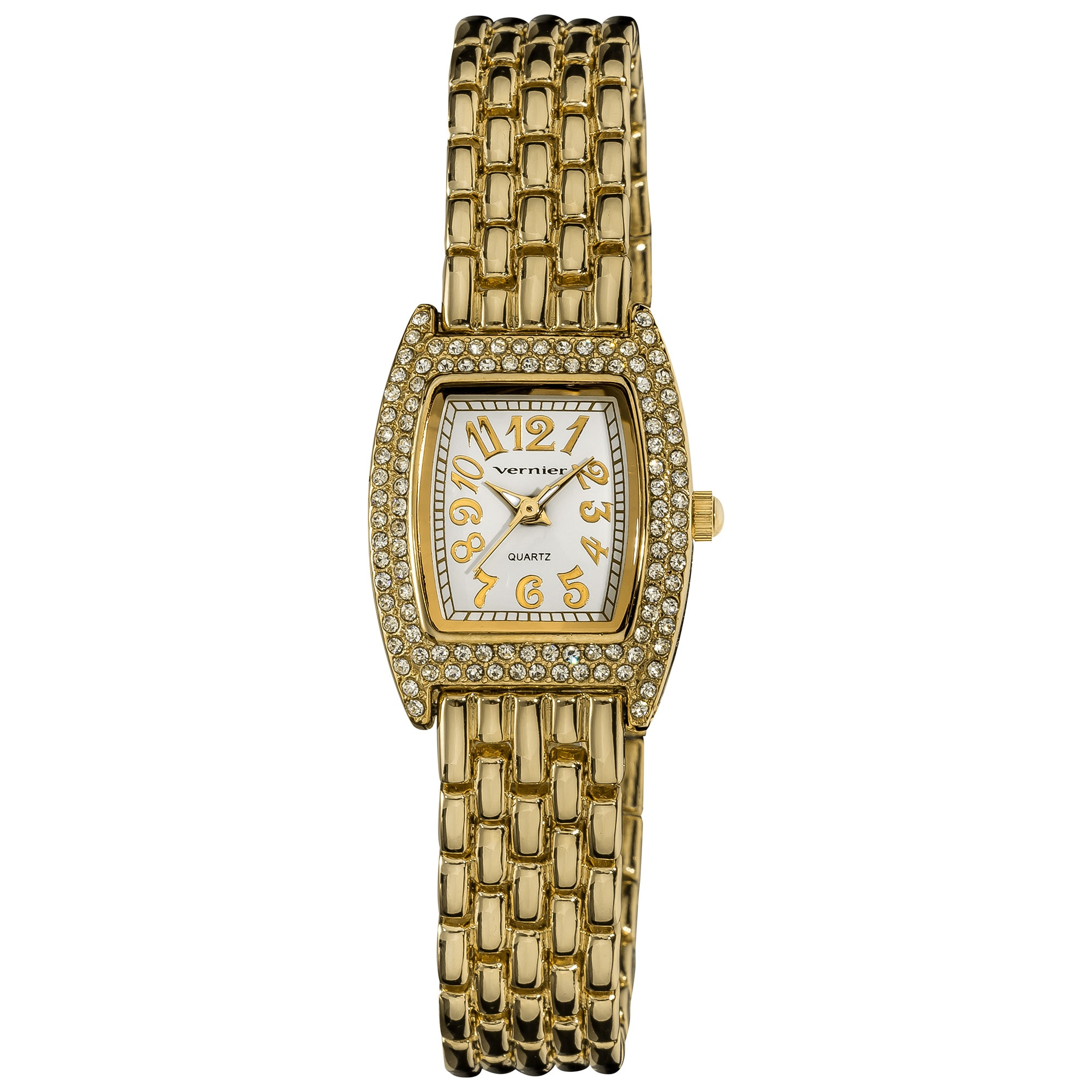 Vernier Women's Gold Tone Classic Feminine Quartz Watch