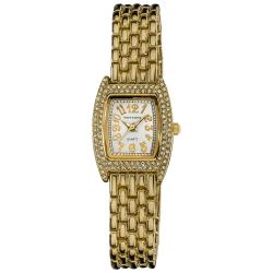Vernier Women's Gold Tone Classic Feminine Quartz Watch - Thumbnail 0