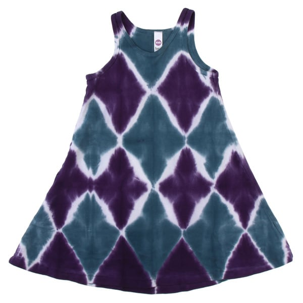 American Apparel Kids' Tie Dye Baby Rib Tank Dress
