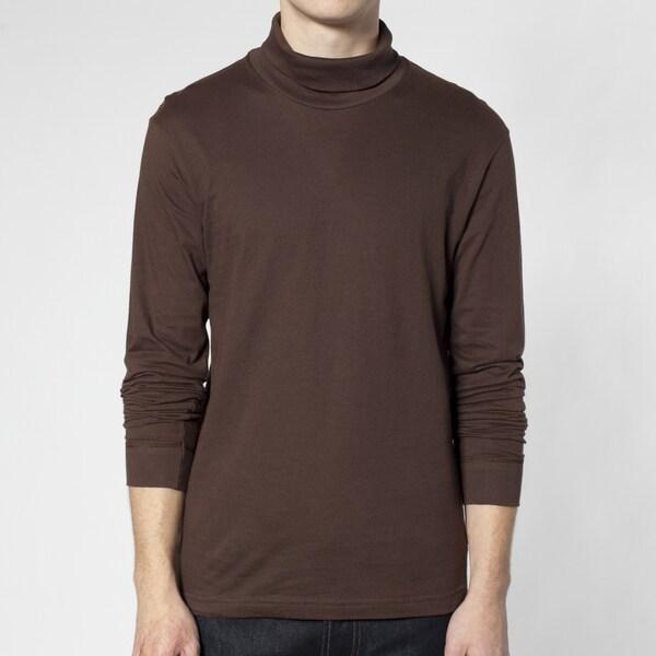 American Apparel Fine Jersey Long Sleeve Turtleneck (XL)