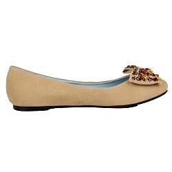 Modesta by Beston Women's 'Judy-01' Tan Flats