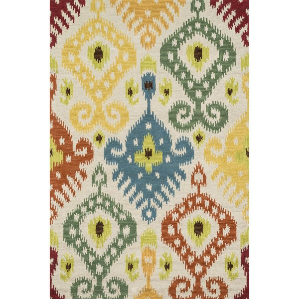 Hand-tufted Montague Multi Wool Rug (3'6 x 5'6)