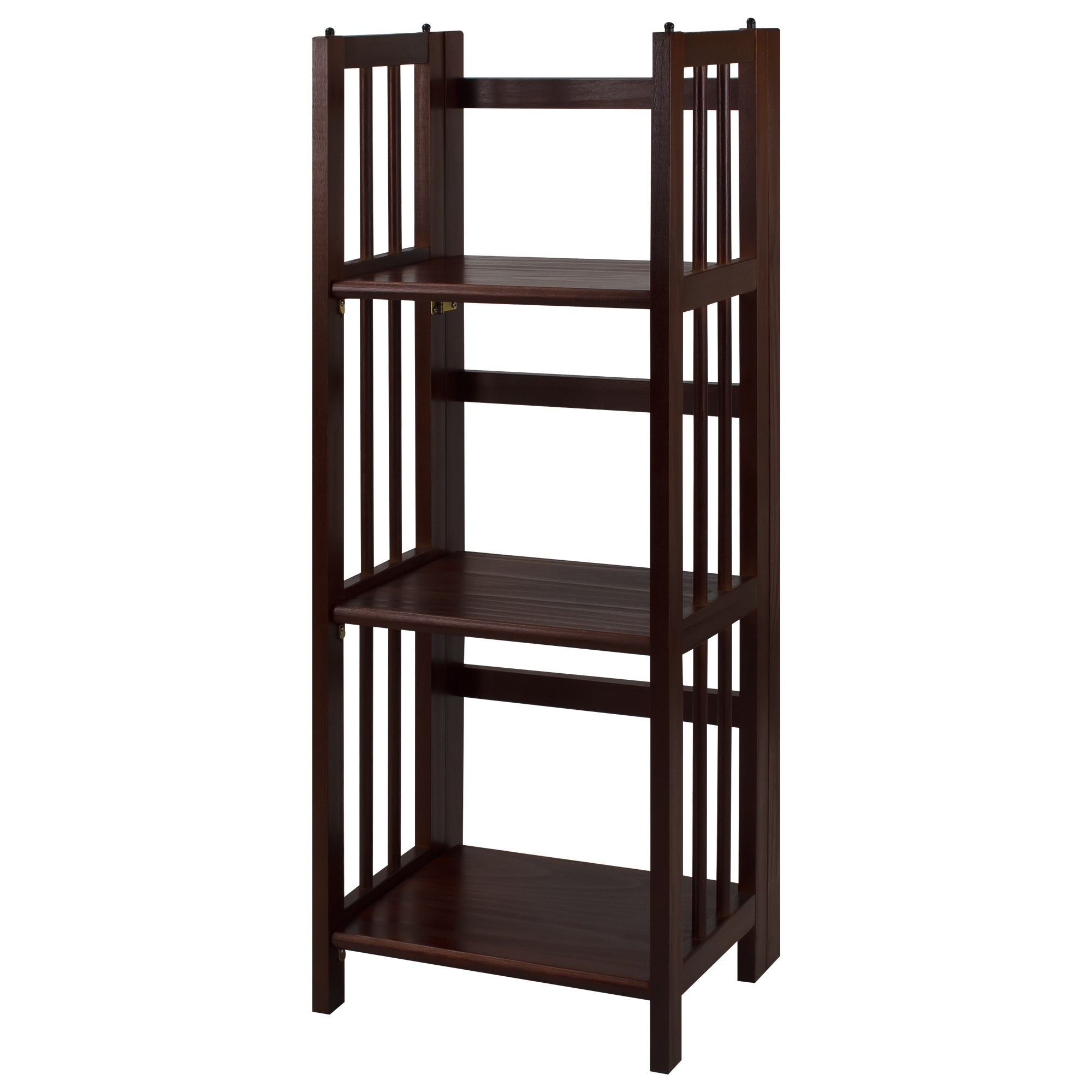 shipping bookshelf stratford folding free bookcase shelf today product overstock garden home