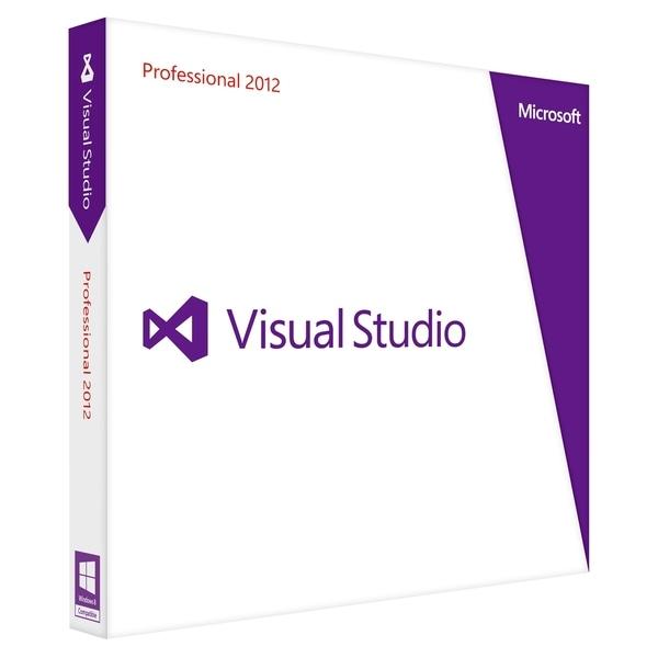 Microsoft Visual Studio 2012 Professional - Complete Product