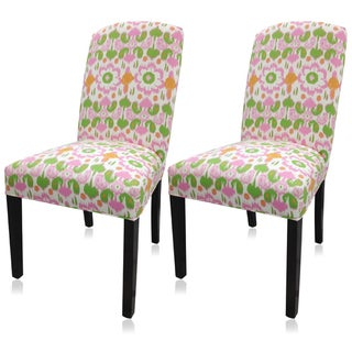 Sole Designs Daisy Flora Camelback Chairs (Set of 2) - Daisy Flora Camelback