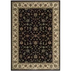 "Nourison Persian Arts Traditional Black Rug (2' x 3'6"")"