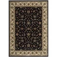 "Nourison Persian Arts Traditional Black Rug (2' x 3'6"")"