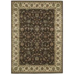 Nourison Persian Arts Floral Chocolate Rug (2' x 3'6)