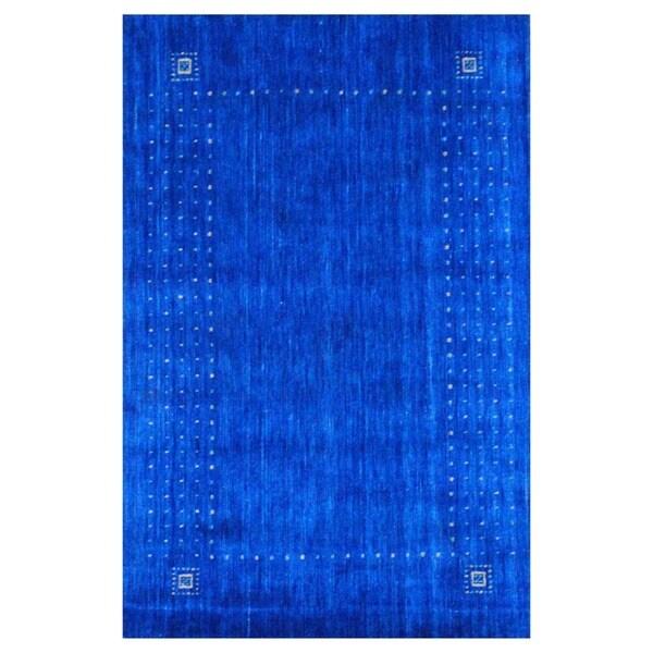 Handmade Gabbeh Wool Rug (India) - 2' x 3'. Opens flyout.
